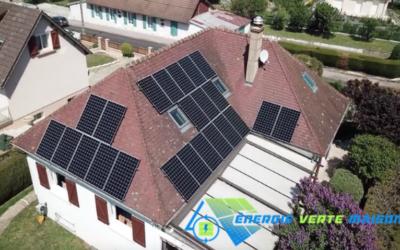 Yonne : Pose panneaux solaires à Avallon