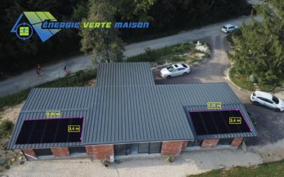 Colombe-lès-Vesoul : projet photovoltaïque de 6,175 KWc