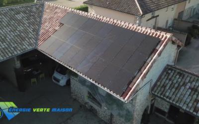 Manziat : Panneaux solaires de 8,96 KWc