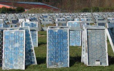 Veolia : Recyclage des panneaux solaires en 2019