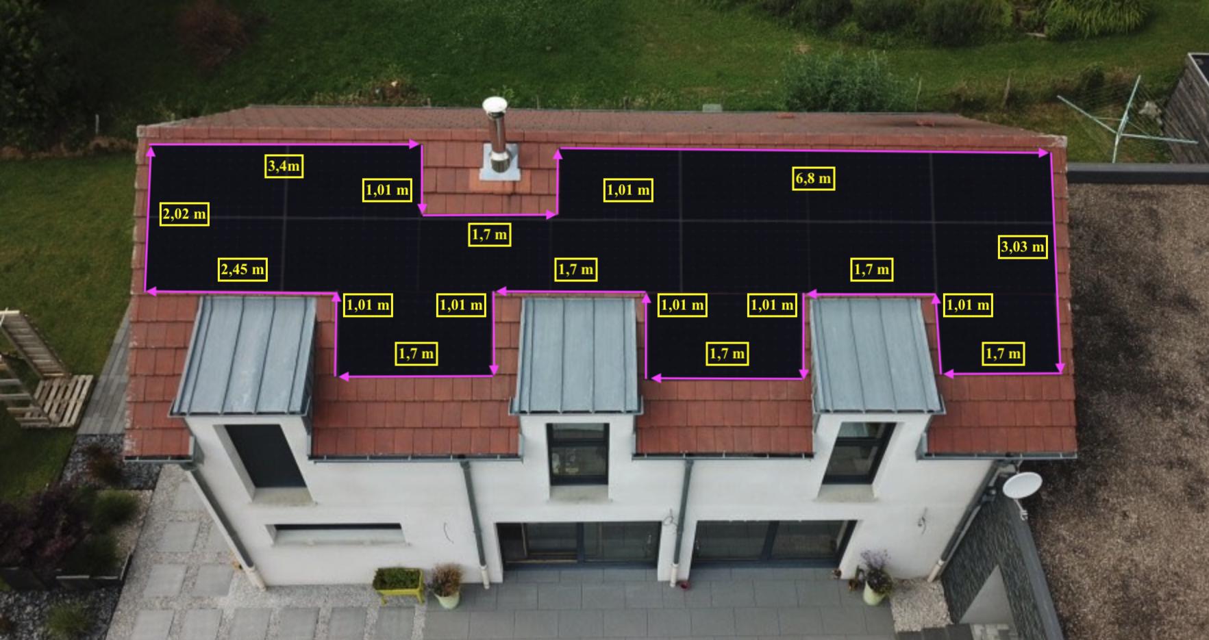 Braillans pose panneaux solaires projet photovoltaïque